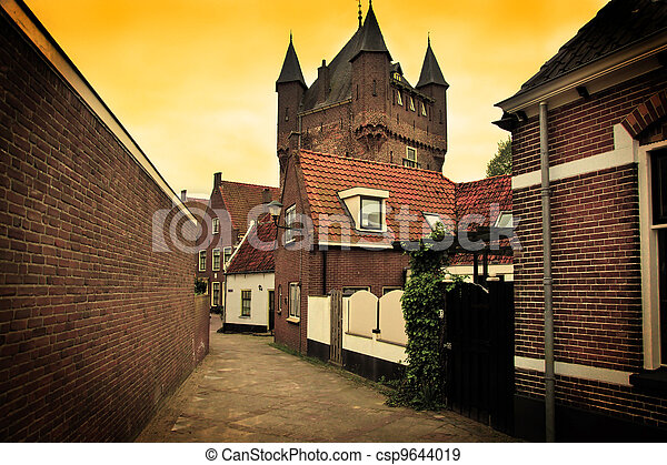 The historic architecture in Netherlands - csp9644019