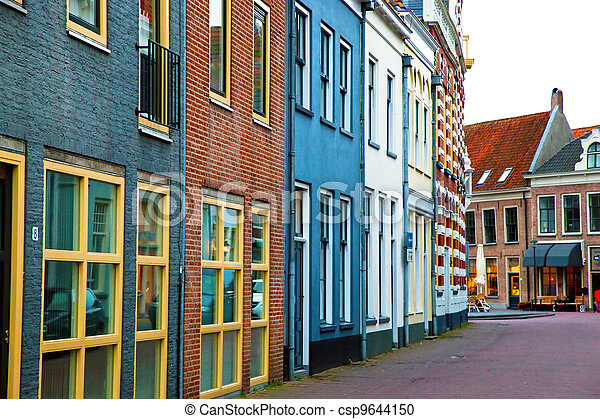 The historic architecture in Netherlands - csp9644150