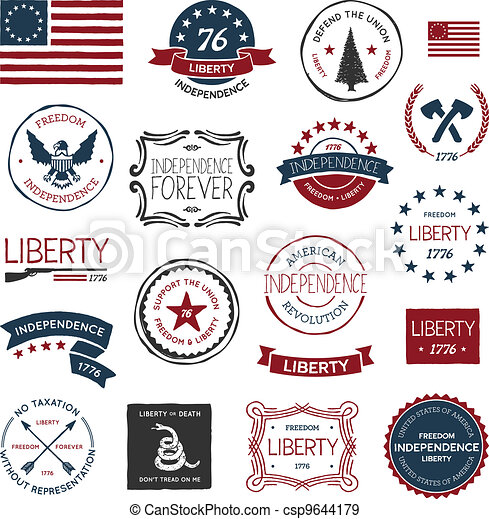 American revolution designs - csp9644179