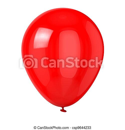 Red Balloon - csp9644233