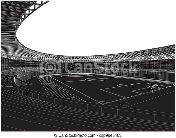 Football Soccer Stadium - csp9645403