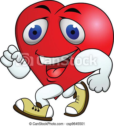 Heart carton exercise  - csp9645501