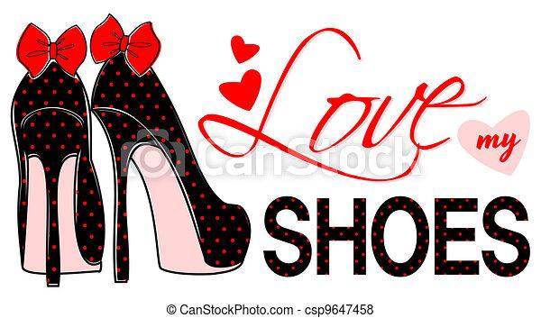 Group of: Love my Shoes Kunstdrucke von Allison Pearce - bei AllPosters.ch | We Heart It