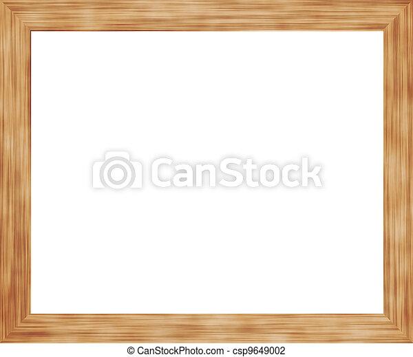 Wooden Frame - csp9649002