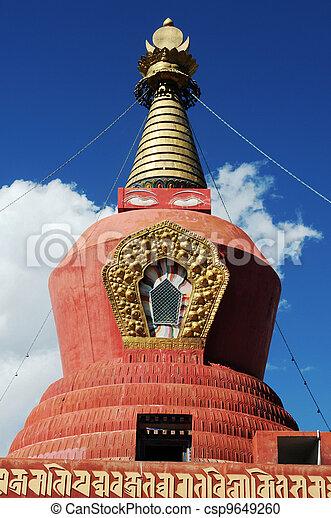 Tibetan stupa - csp9649260