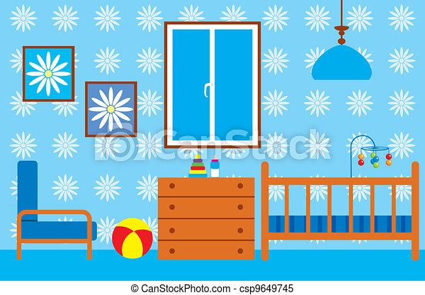 Living room - csp9649745