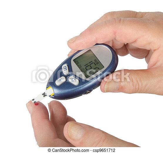 Home glucose meter - csp9651712