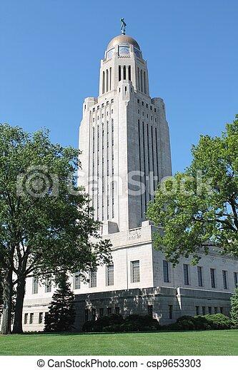 Nebraska State Capital - csp9653303