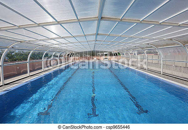 Indoor swimming pool - csp9655446