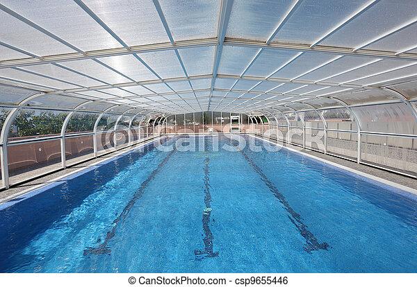 Indoor swimming pool - csp9655446