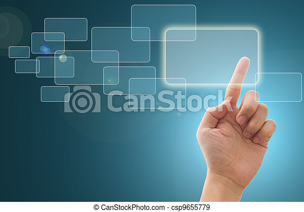 Touch screen interface - csp9655779