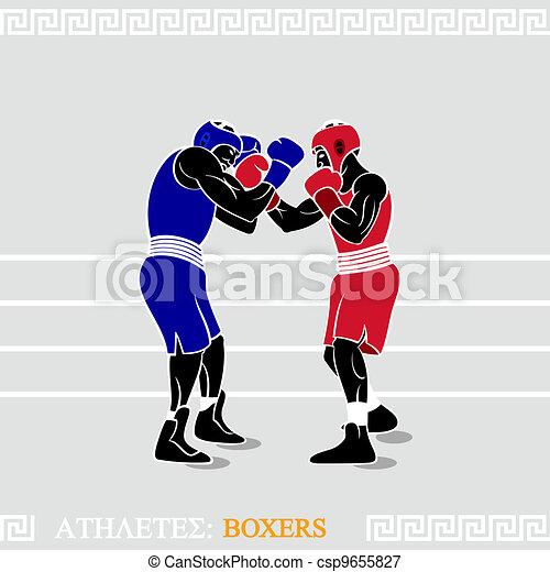 Athlete Boxers - csp9655827