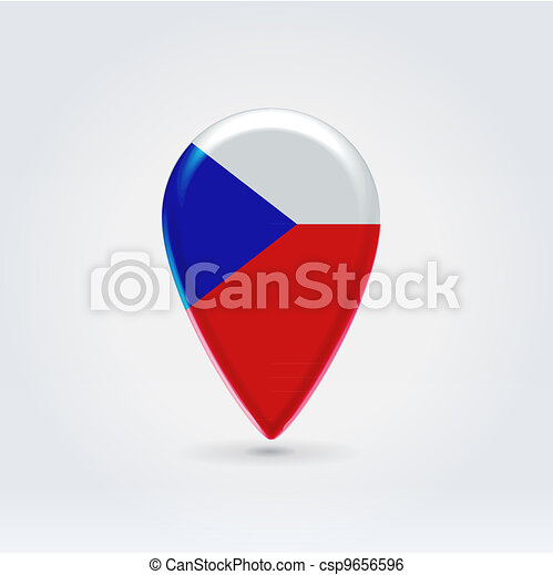 Geo location national point label - csp9656596