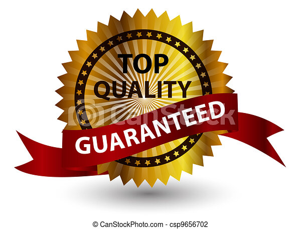Top quality label. Vector illustration sign. - csp9656702