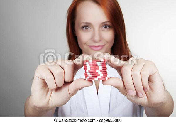 making a bet - csp9656886
