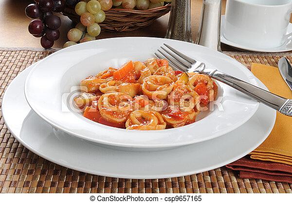 tortellini parmesan - csp9657165