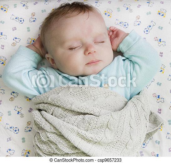 Photos de reposer lit enfant nourrisson pose sur for Lit nourrisson