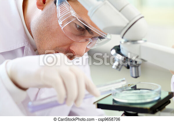 Chemist at work - csp9658706