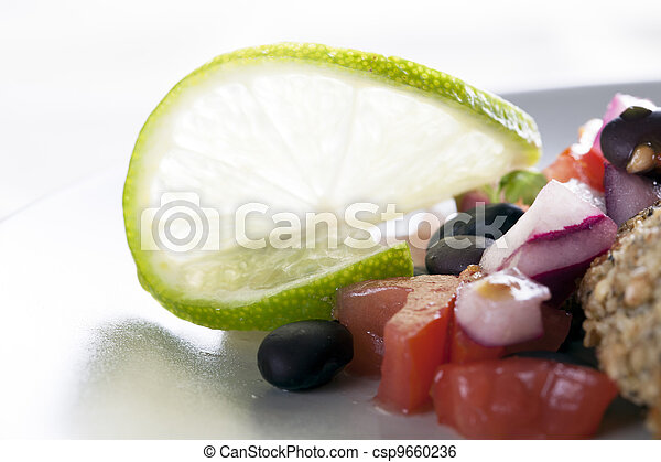 Lime Garnish - csp9660236