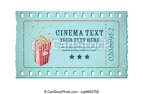 Movie Ticket - csp9662758