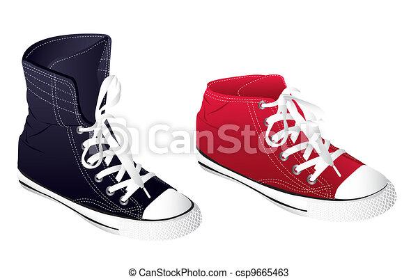sneakers - csp9665463