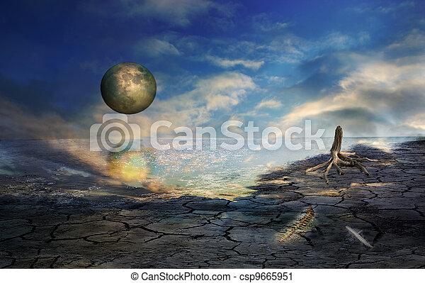 Beyond Tomorrow - csp9665951