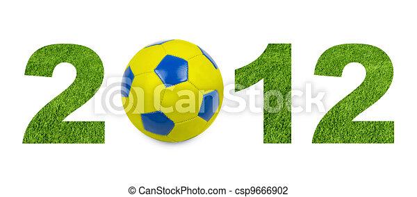 football 2012 championship - csp9666902