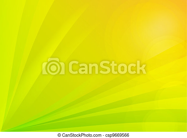 Abstract Green and Yellow Background Wallpaper - csp9669566