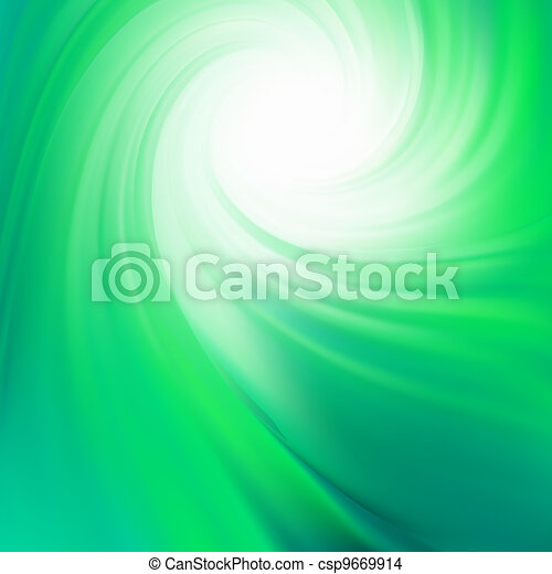 Colorful smooth twist light lines. EPS 8 - csp9669914