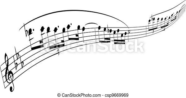 melody strip - csp9669969