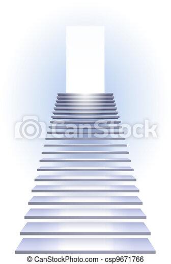 Ladder to success - csp9671766