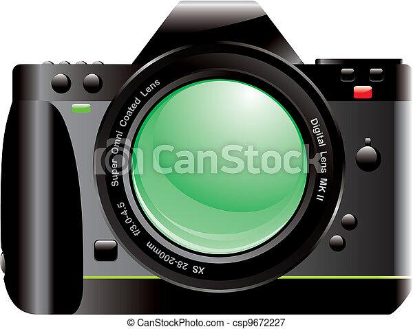 SLR Digital Camera - csp9672227