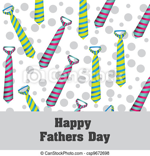 Happy Father's Day - csp9672698