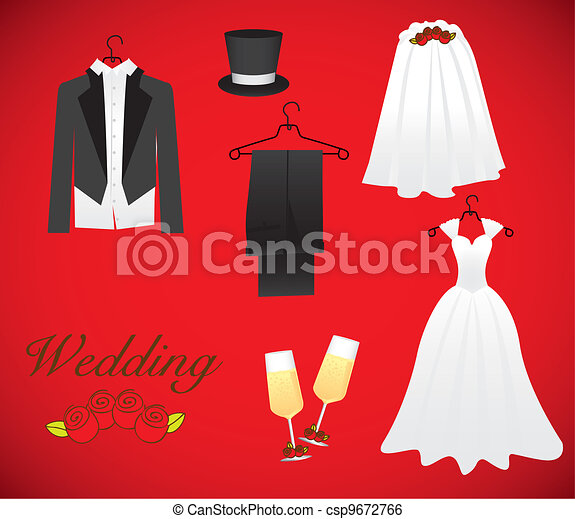 objects of marriage - csp9672766