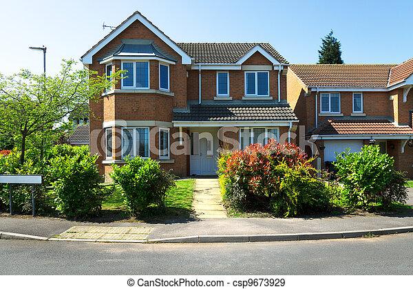 Banque de photographies de maisons typique anglaise typique anglaise ma - Photo maison anglaise ...