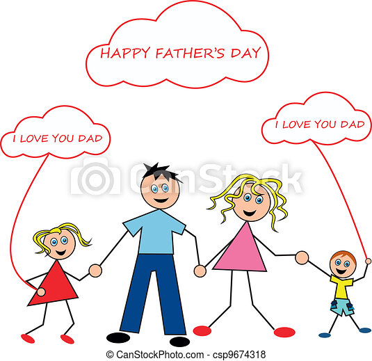 Happy father's day - csp9674318