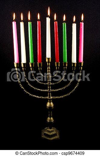 Jewish Holidays Hanukkah - csp9674409