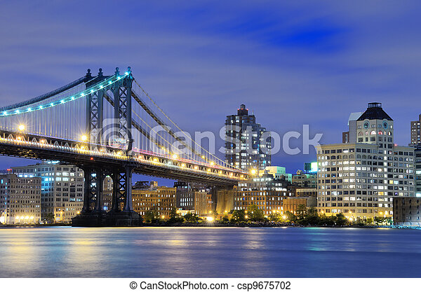 Manhattan Bridge Bridge - csp9675702