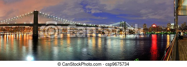 New York City Bridges - csp9675734
