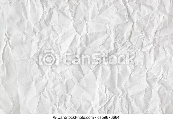 Crumpled paper background - csp9676664