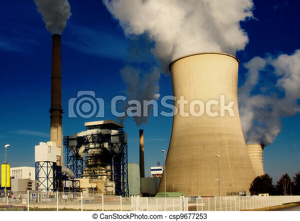 power station - csp9677253