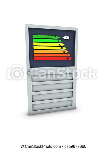 door with energy classification  - csp9677660