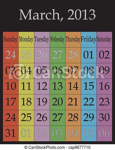 March, 2013 - csp9677710