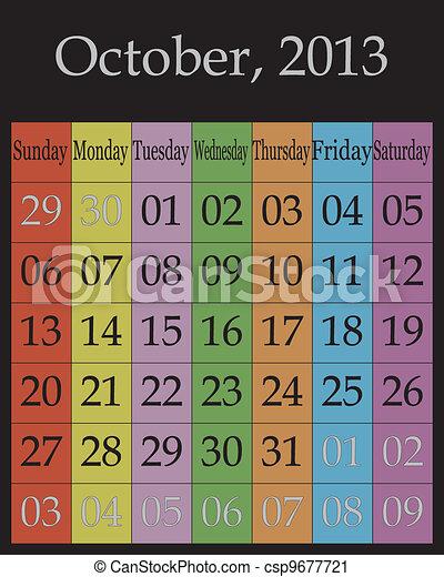 October, 2013 - csp9677721