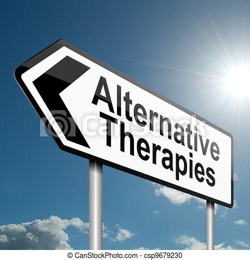 Alternative therapies concept. - csp9679230