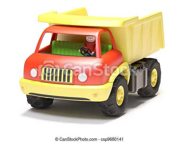 Toy truck - csp9680141