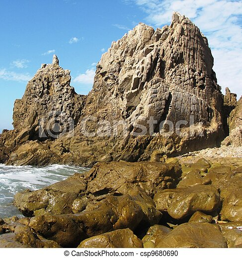 Corona del Mar Geology - csp9680690