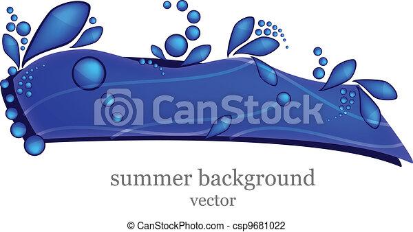 Summer Background - csp9681022