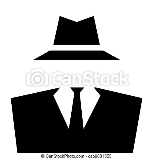 Stock Illustrations of Anonymous Invisible Man icon ...