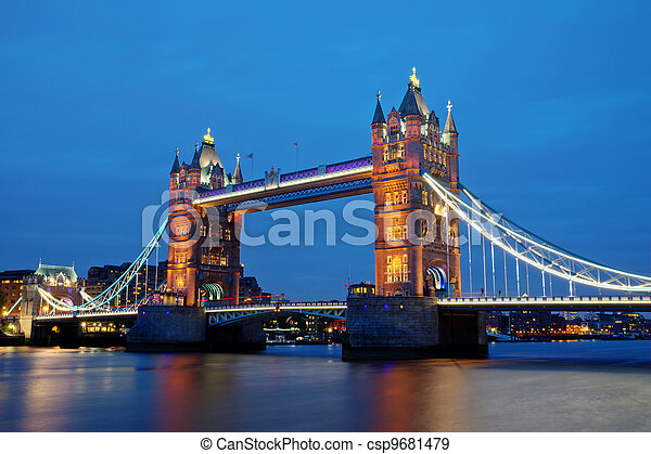 London landmark Towerbridge  - csp9681479